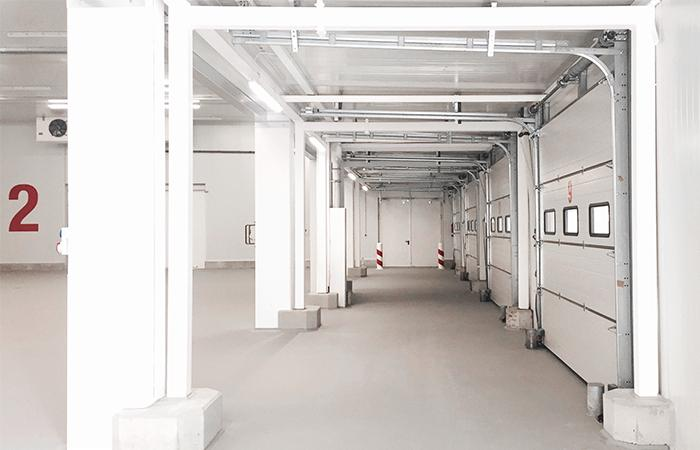 Logistikzentrum<br>Gro&szlig;markt M&uuml;nchen